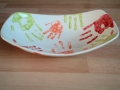 Handprinted Serving Dish  (top)
